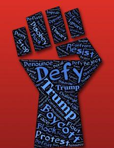 defiance, fist, resist
