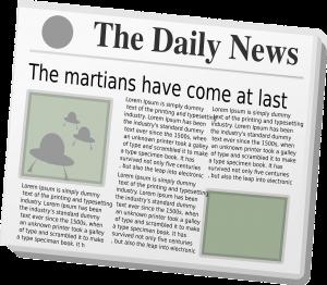 newspaper, news, paper